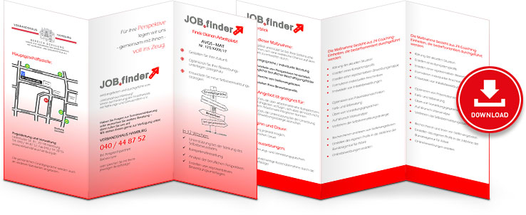 JOB.finder Flyer